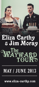 Eliza Carthy and Jim Moray - The Wayward Tour May / June 2013